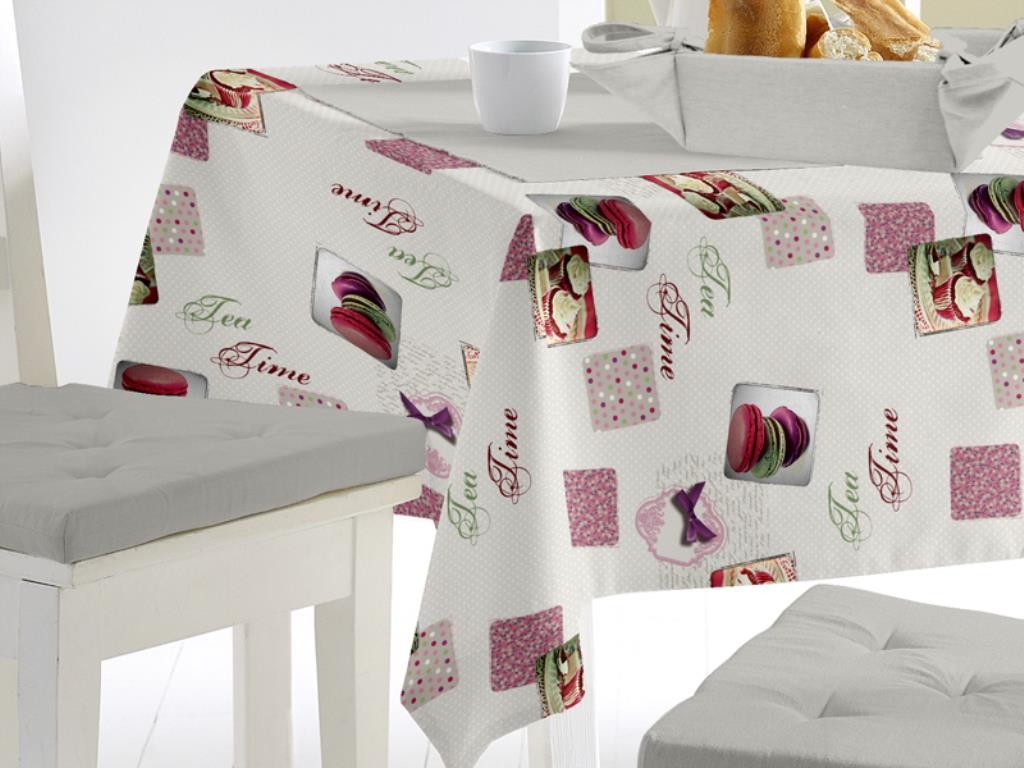 Selartex for Nappe toile ciree rectangulaire
