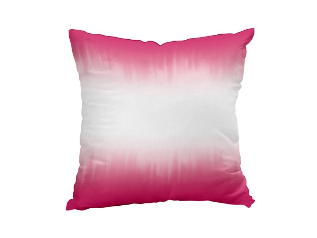 jet de lit coton 220x240 cm tie and dye fuchsia selartex. Black Bedroom Furniture Sets. Home Design Ideas
